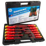 Silverline 918535 11 Pc Electricians Insulated Screwdriver Set