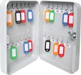 Sterling Wall Mounted KC24 Locking Key Cabinet - 24 Hooks
