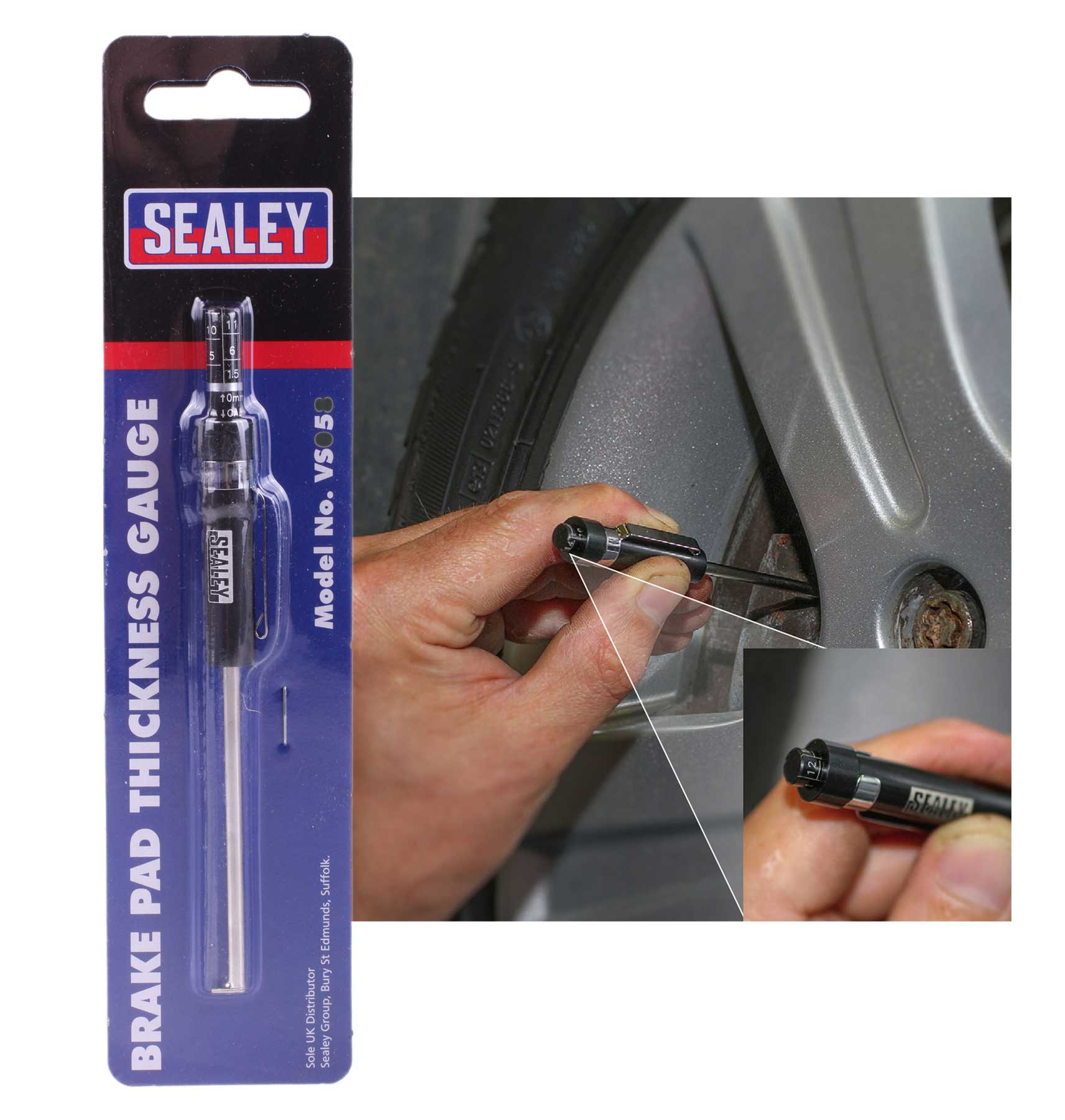 Brake Lining Thickness Minimum : Bmw brake pad thickness tool