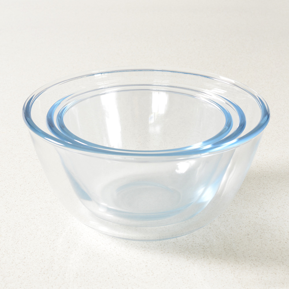 Procook glass mixing bowl set baking accessories microwave
