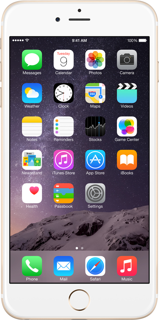 apple iphone 6 plus 16gb 64gb 128gb unlocked sim free refurbished smartphone ebay. Black Bedroom Furniture Sets. Home Design Ideas