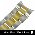 Mens Metal Watch Bands