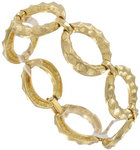 View Item Big Chain Link Gold Tone Bracelet