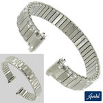 View Item 10-13mm Ladies White Gold GP Replacement Watch Band Speidel