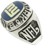 Balfour Ring Football New York Giants Offical Nfl Team Sz 8.5