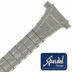 "View Item 10-13mm Speidel Watch Band Stainless 5 7/8"" Ladies"