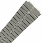 View Item 10-13mm Ladies Brushed Stainless Deployment Watch Band Speidel