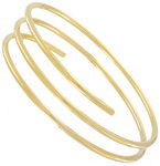 Ky & Co Armlet Gold Tone Upper Arm Cuff Band Bracelet Triple USA Made