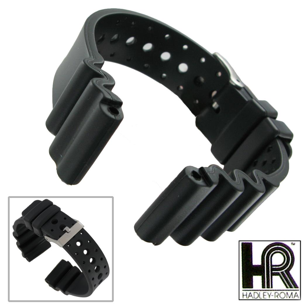 Fits Triathlon Watch Band Ms3159 20mm Long Black
