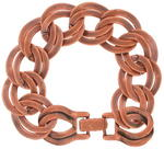 Ky & Co Copper Ox Chunky Double Link Chain Bracelet Thumbnail 4