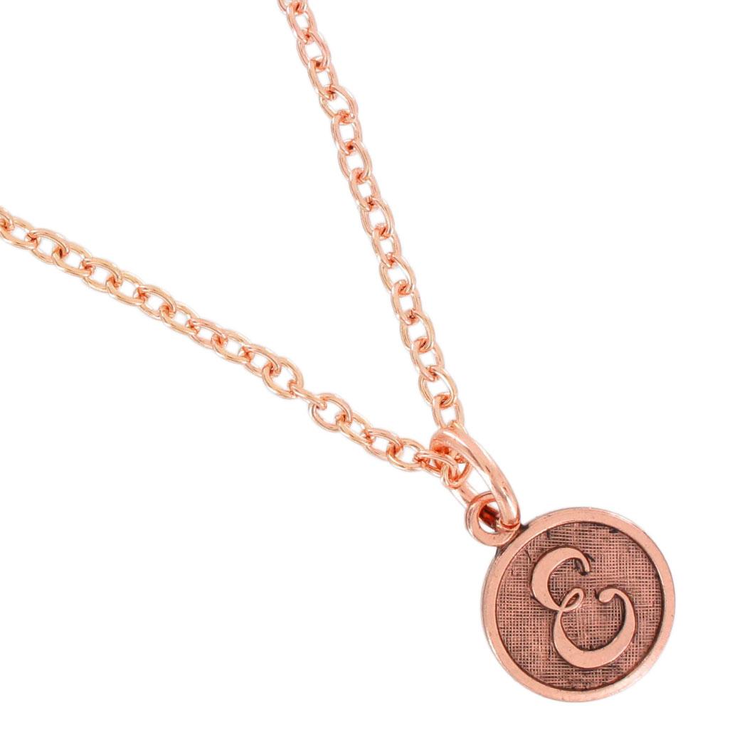 cursive initial letter pendant charm necklace usa choose