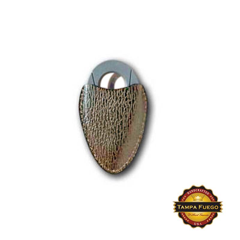 Tampa Fuego Cigar Cutter Case Genuine Shark Natural Fits Xikar- SPO Thumbnail 1