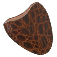 Tampa Fuego Cigar Cutter Case Crocodile Grain Cognac Fits Xikar Father's Day Thumbnail 3