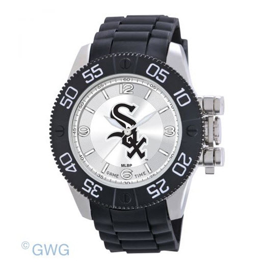 Chicago White Sox Game Time MLB Beast Black Polyurethane Men Watch MTO