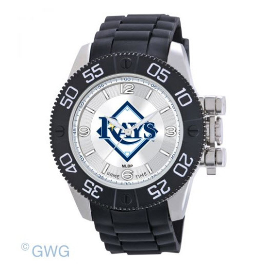 Tampa Bay  Game Time MLB Beast Black Polyurethane Men Watch MTO
