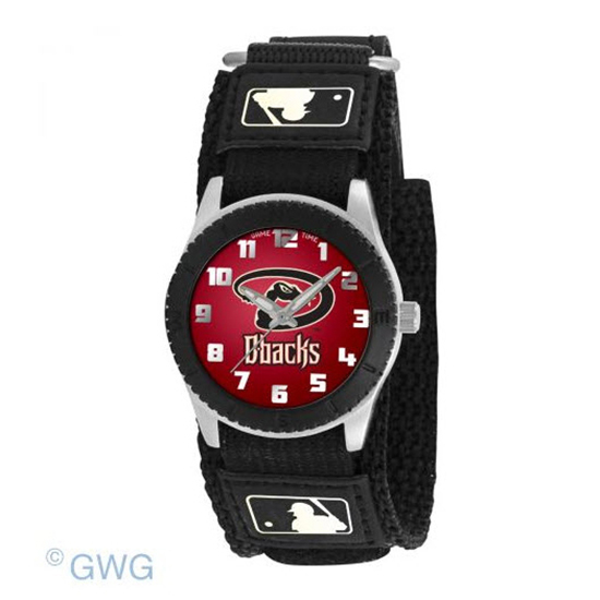 Arizona Diamondbacks Game Time MLB Rookie Black Juniors Cuff Unisex Watch MTO