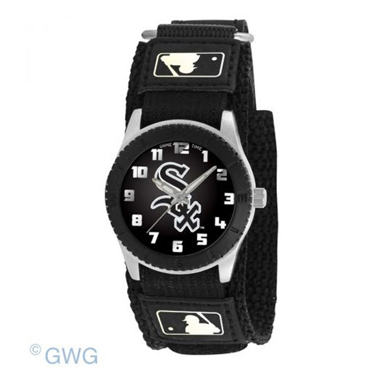Chicago White Sox Game Time MLB Rookie Black Juniors Cuff Unisex Watch MTO