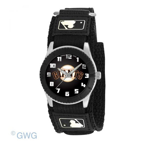 San Francisco Giants Game Time MLB Rookie Black Juniors Unisex Watch MTO