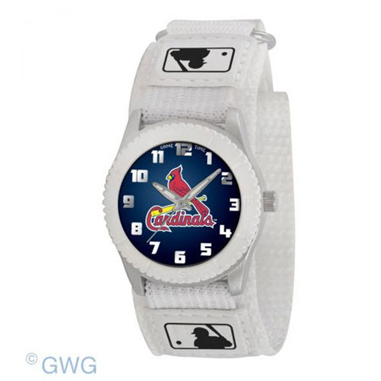 St Louis Cardinals  Game Time MLB Rookie Black Juniors Unisex Watch MTO