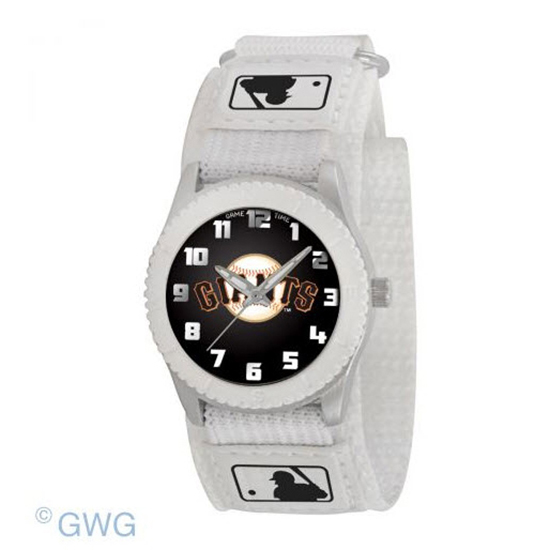 San Francisco Giants Game Time MLB Rookie White Juniors Unisex Watch MTO