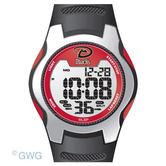Arizona Diamondbacks Game Time MLB Training Camp Digital Men's Watch MTO