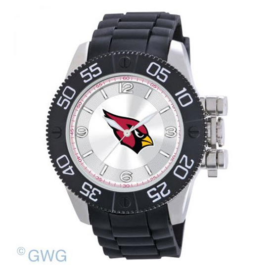 Arizona Cardinals NFL Game Time Black Polyurethane Men Watch MTO