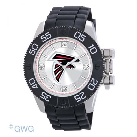 Atlanta Falcons NFL Game Time Black Polyurethane Men Watch MTO