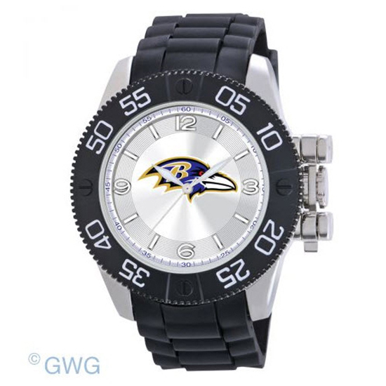 Baltimore Ravens NFL Game Time Black Polyurethane Men Watch MTO