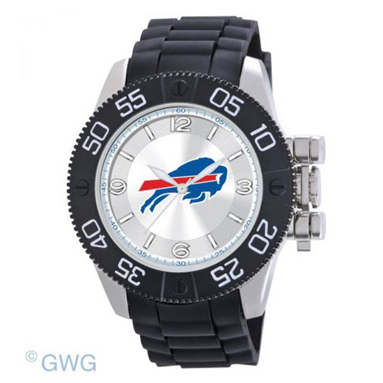 Buffalo Bills NFL Game Time Black Polyurethane Men Watch MTO