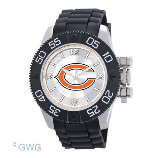 Chicago Bears NFL Game Time Black Polyurethane Men Watch MTO