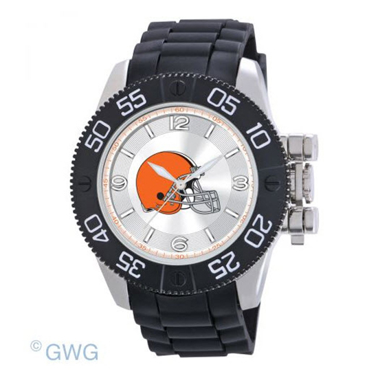 Cleveland Browns NFL Game Time Black Polyurethane Men Watch MTO