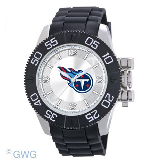 Tennessee Titans NFL Game Time Black Polyurethane Men Watch MTO