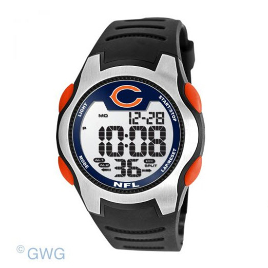 Chicago Bears Game Time NFL Training Camp Digital Men's Watch MTO
