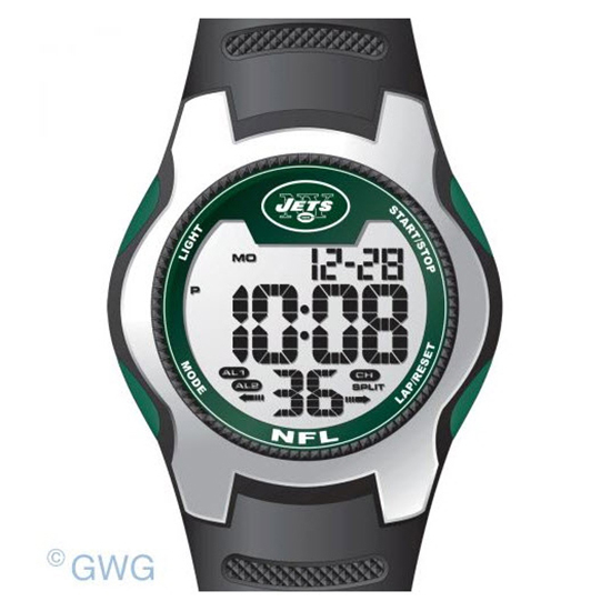 New York Jets Game Time NFL Training Camp Digital Men's Watch MTO