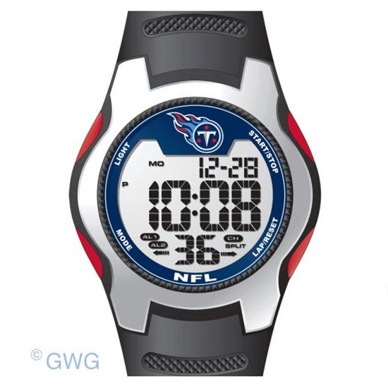 Tennessee Titans Game Time NFL Training Camp Digital Men's Watch MTO