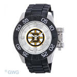 Boston Bruins Game Time NHL Beast Black Polyurethane Men Watch MTO