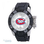 Montreal Canadians Game Time NHL Black Polyurethane Men Watch MTO