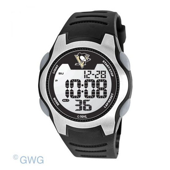 Pittsburgh Penguins Game Time NHL Training Camp Digital Men's Watch MTO