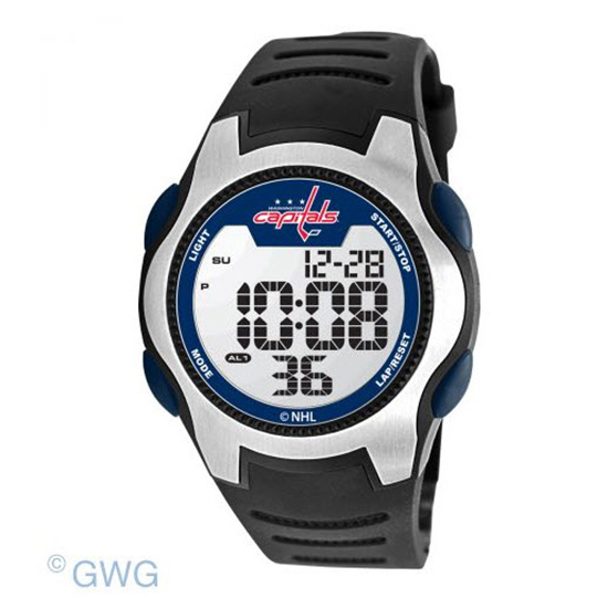 Washington Capitals Game Time NHL Training Camp Digital Men's Watch MTO