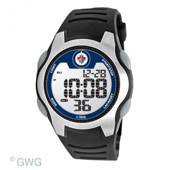 Winnipeg Jets Game Time NHL Training Camp Digital Men's Watch MTO
