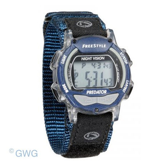style predator blue nylon men s digital watch 7212227 spo style predator blue nylon men s digital watch 7212227 spo thumbnail 1