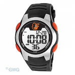 Baltimore Orioles Cap Game Time MLB Training Camp Digital Black Men's Watch MTO
