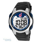 Cleveland Indians Game Time MLB Training Camp Digital Black Men's Watch MTO