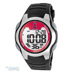 Los Angeles Angels Game Time MLB Training Camp Digital Black Men's Watch MTO