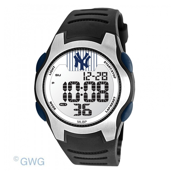 New York Yankees MLB Training Camp Digital Black Men s Watch