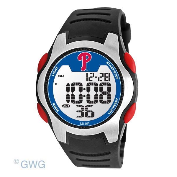 Philadelphia Phillies Game Time MLB Training Camp Digital Men's Watch MTO