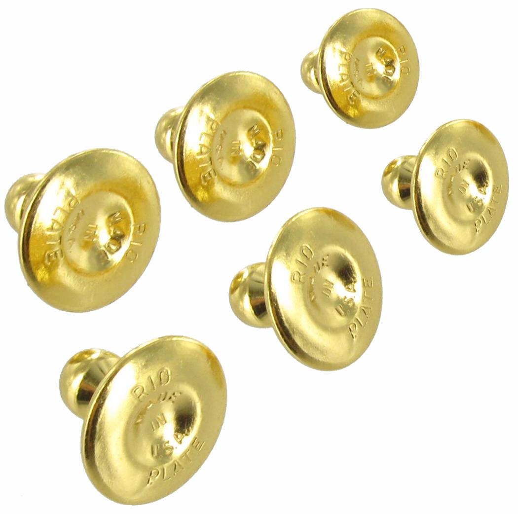 Collar Buttons Gold Men S Rio Vintage 2767 18 F