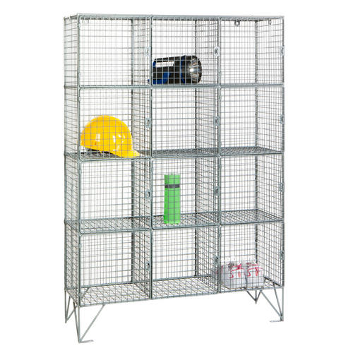Wire mesh cube - Retail Display : Mince His Words