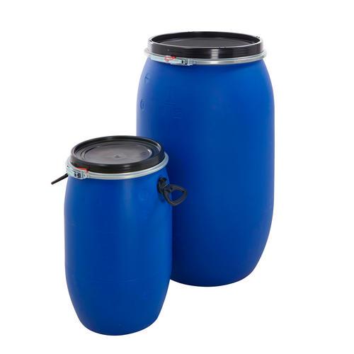Plastic Oil Drum Storage Bulk Barrel Open Top Container