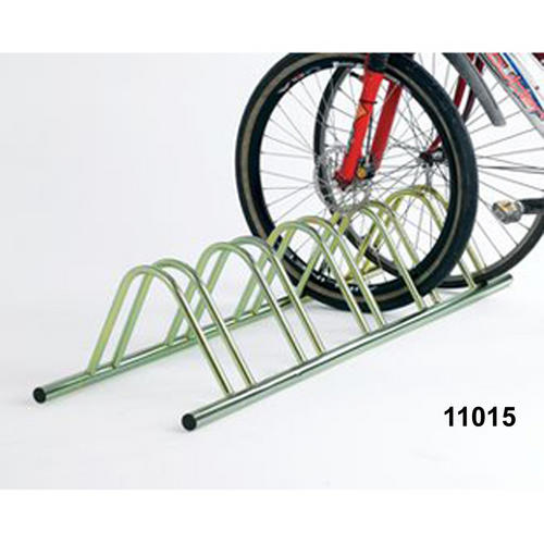 Bike-Cycle-Floor-Mount-Bicycle-Rack-Standiong-Secure-Storage-5-Sizes-BiGDUG